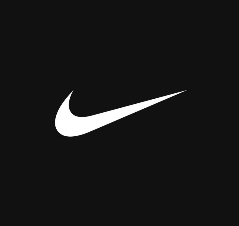 large Nike logo